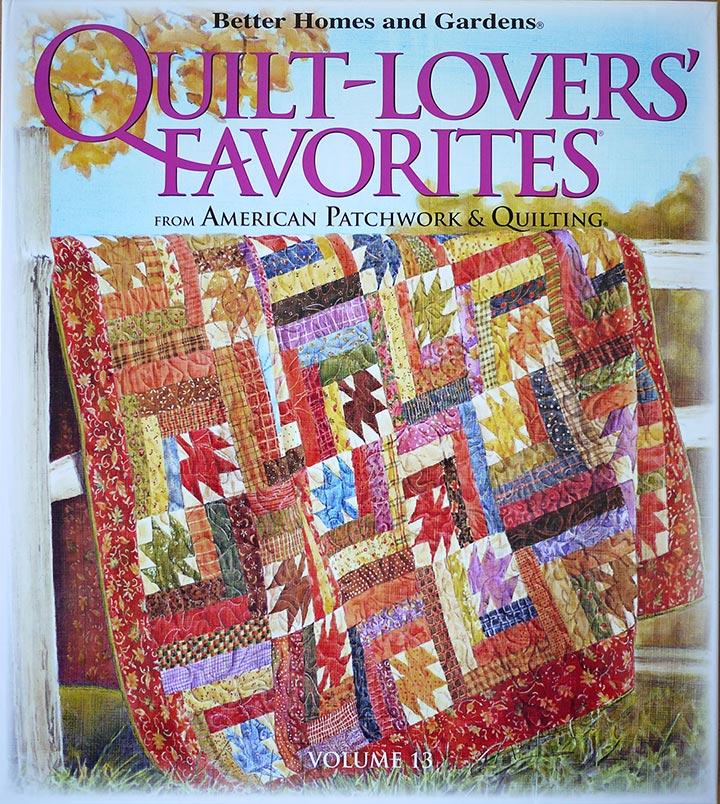 Quilt Design Featured In Better Homes And Gardens Quilt Book