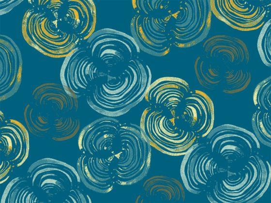Lichen, part of the Woodland Collection in Aurora from Lori Mason Design