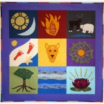'Amina's Friends,' a quilt from Lori Mason's Special Event Collection
