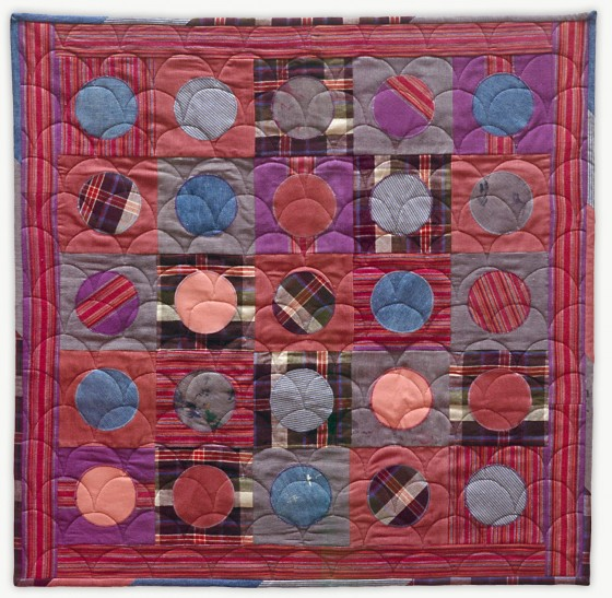 'Barbara's Penny,' a memorial quilt designed by Lori Mason