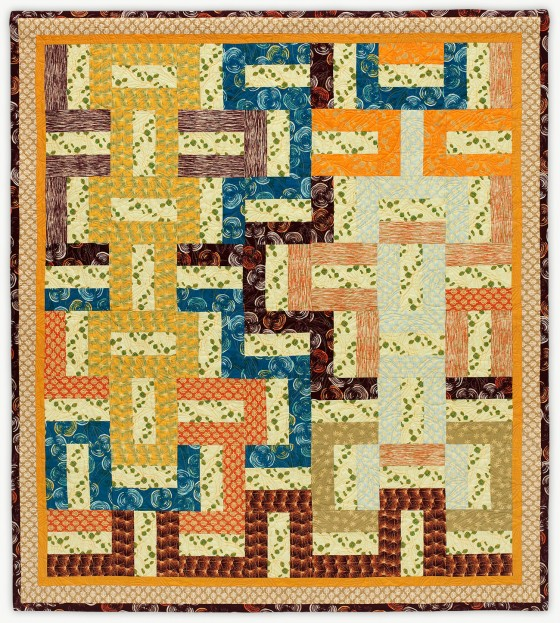 'Colony,' a quilt from Lori Mason's Designer Collection