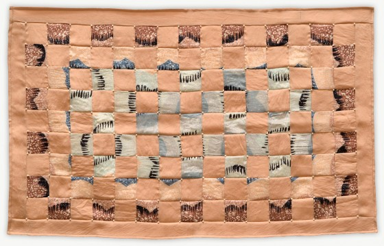 'Diane's Squares,' a memorial quilt designed by Lori Mason