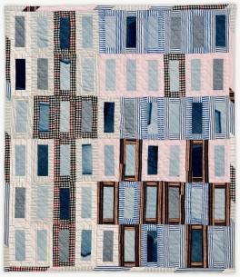 'Eva in the Garden,' a memorial quilt designed by Lori Mason