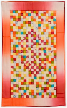 'Eva's Night Out,' a memorial quilt designed by Lori Mason