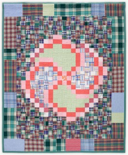 'Joan's Pink Lady 1,' a memorial quilt designed by Lori Mason