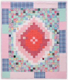 'Joan's Pink Lady 2,' a memorial quilt designed by Lori Mason