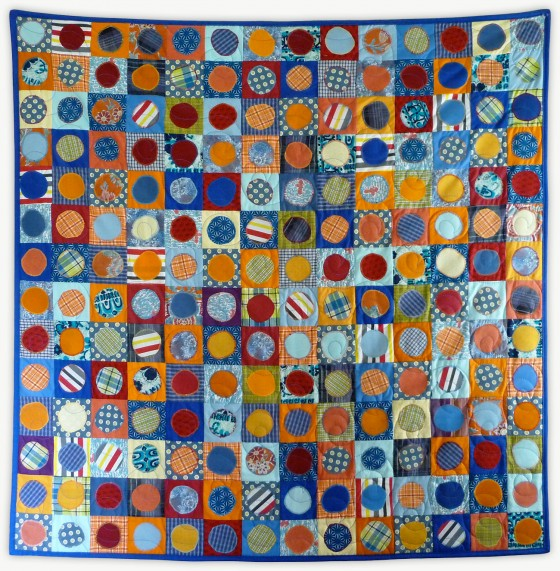 'Leland's Spots,' a quilt from Lori Mason's Special Event Collection