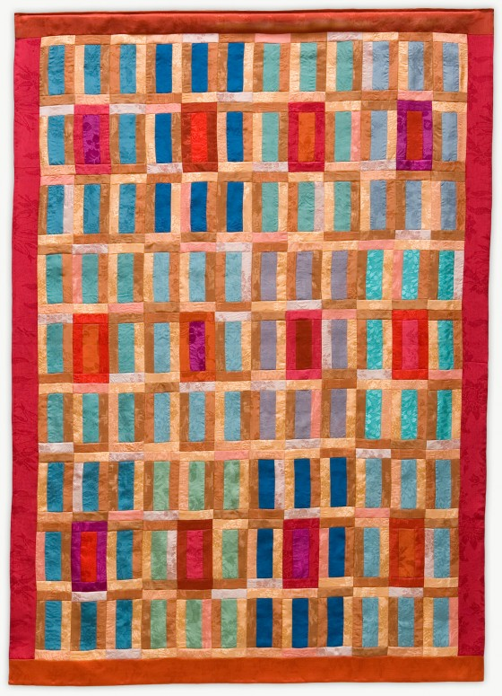 'Marjorie's Dance,' a memorial quilt designed by Lori Mason