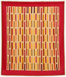 'Red Signal,' a quilt from Lori Mason's Designer Collection