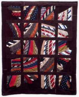 'Ronny's Ties,' a memorial quilt designed by Lori Mason