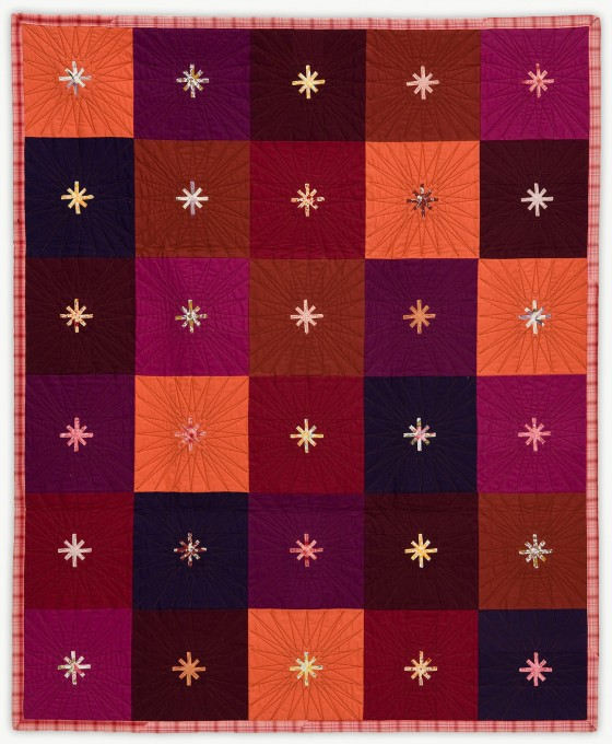 'Starry Night,' a memorial quilt designed by Lori Mason