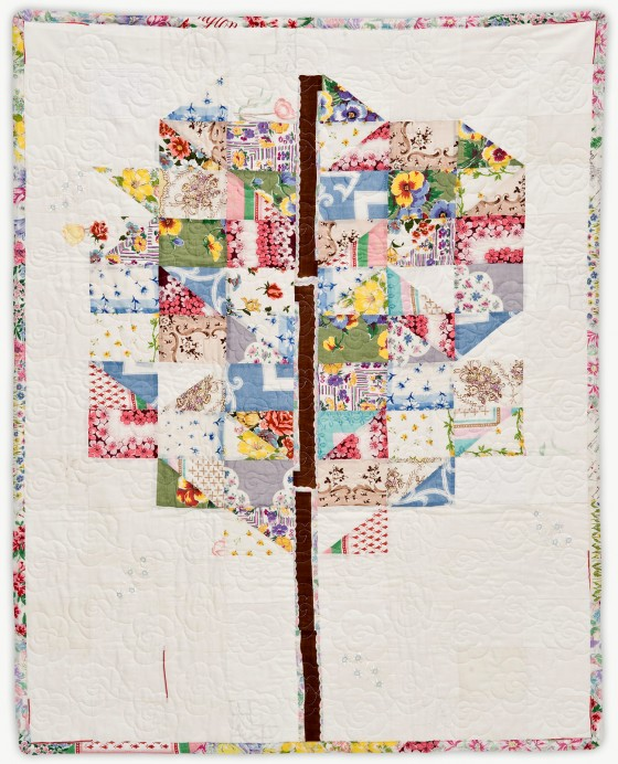 'Tree,' a memorial quilt designed by Lori Mason