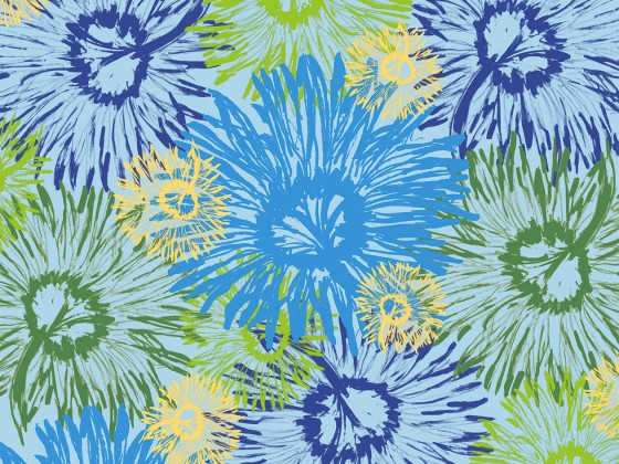 Shasta Tossed, part of the Shasta Collection in Pool from Lori Mason Design