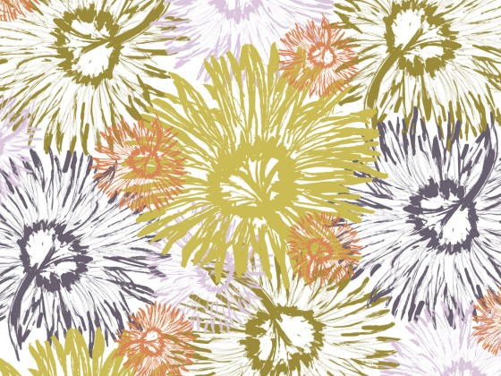 Shasta Tossed, part of the Shasta Collection in Greenhouse from Lori Mason Design