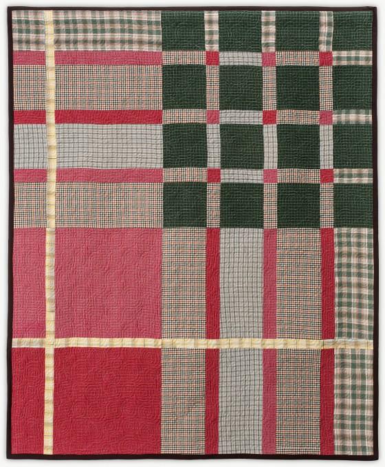 'Cameron Tartan', a designer quilt designed by Lori Mason