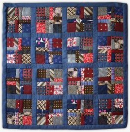 'Zadie's Bow Ties', a Lori Mason Memorial Quilt