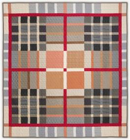 'DebbiesTartan1', a memorial quilt by Lori Mason
