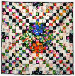 'Mary'sFish', a memorial quilt by Lori Mason