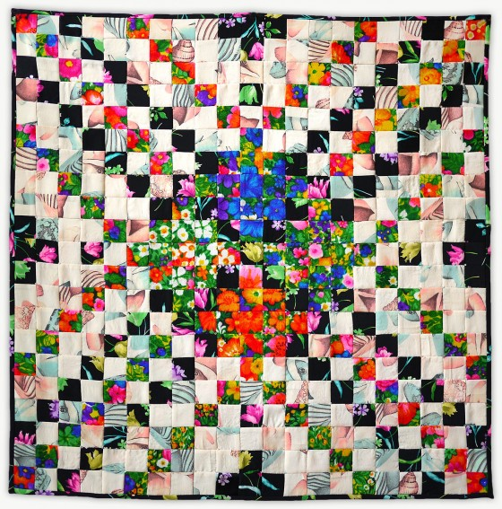 'Mary'sFish', a memorial quilt by Lori Mason