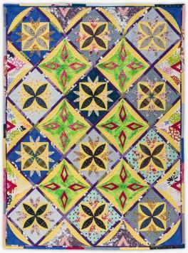 'Amanda's Flowers', a memorial quilt by Lori Mason