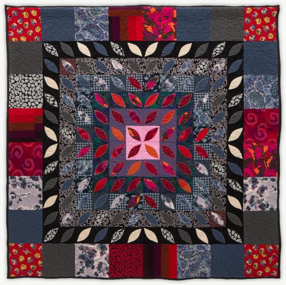 'Frances'Flower,' a memorial quilt by Lori Mason