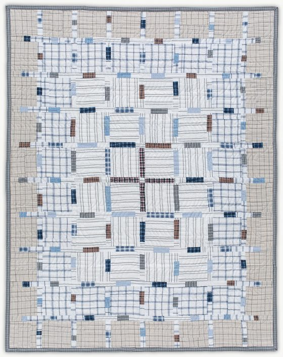 'Alfredo's Map,' a memorial quilt designed by Lori Mason