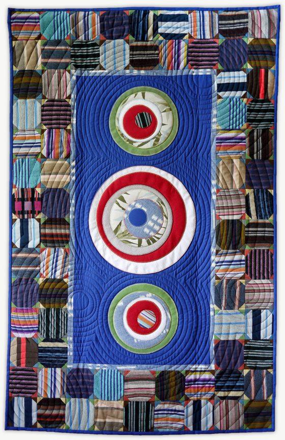 'Youssef's Mandala', a memorial quilt designed by Lori Mason