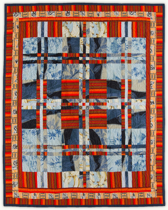 'Colin's Tartan', a memorial quilt designed by Lori Mason