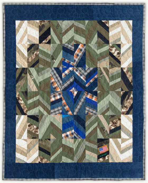 'James' Prairie', a memorial quilt designed by Lori Mason
