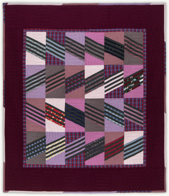 'Al's Colors', a memorial quilt designed by Lori Mason