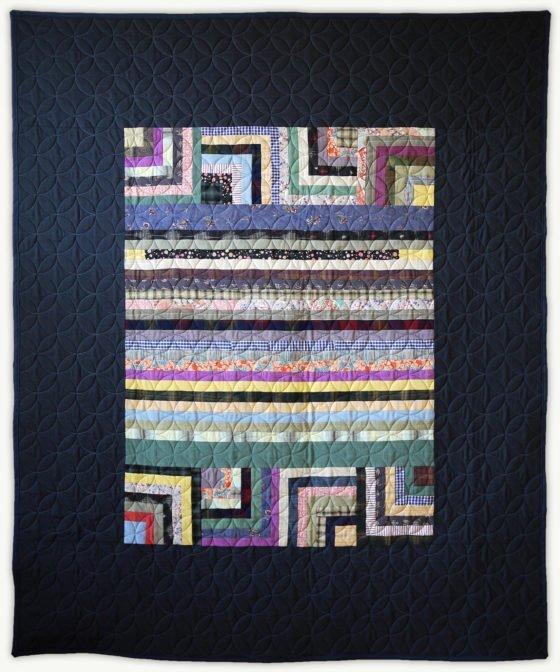 'Silvan's Grad Quilt', a graduation quilt designed by Lori Mason