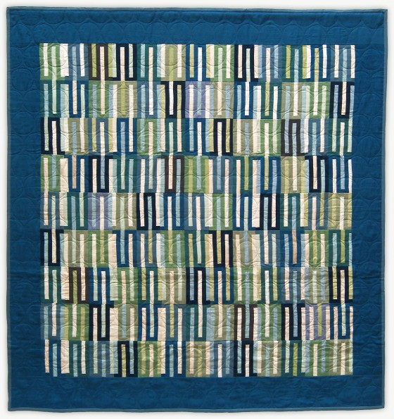 'Blue Signal,' a quilt from Lori Mason's Designer Collection
