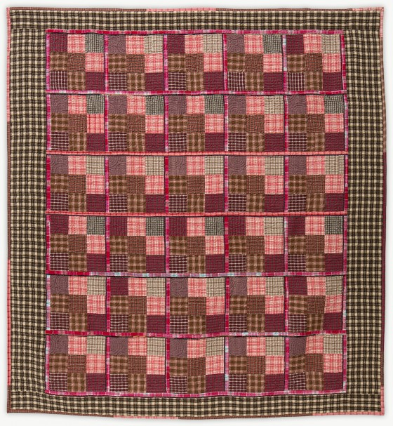 'Cabin Tartan 1,' a quilt from Lori Mason's Designer Collection
