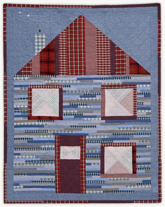 'Home,' a memorial quilt designed by Lori Mason