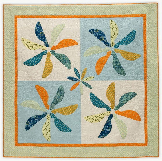 'Maple Swirl,' a quilt from Lori Mason's Designer Collection
