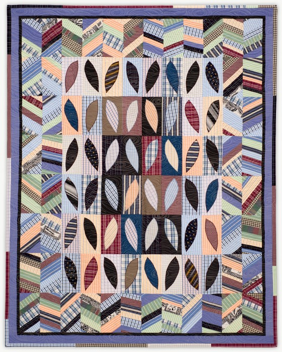 'Norman's View,' a memorial quilt designed by Lori Mason