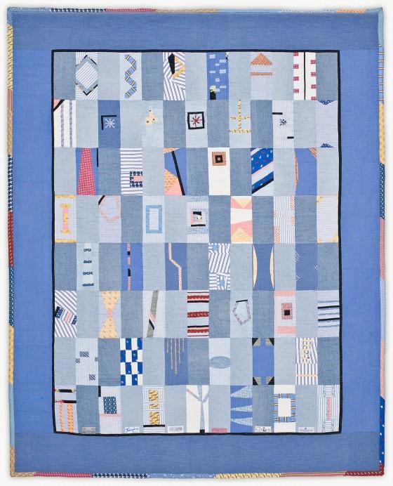 'Richard's Conversations,' a memorial quilt designed by Lori Mason