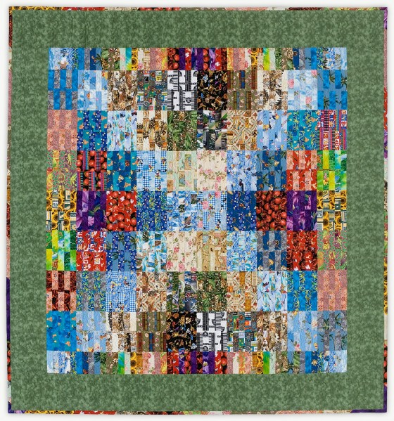 'Sands-Balderas Simpatico,' a quilt from Lori Mason's Special Event Collection