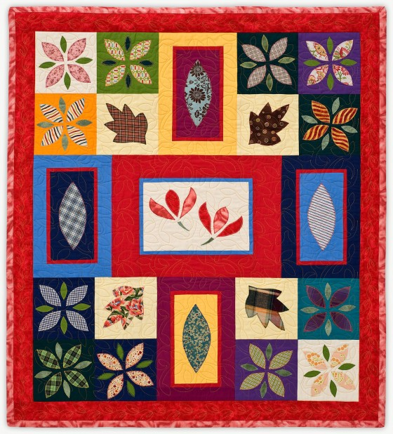 'Susan's 70th,' a quilt from Lori Mason's Special Event Collection