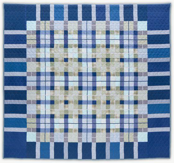 'Debbie's Tartan 2,' a memorial quilt by Lori Mason