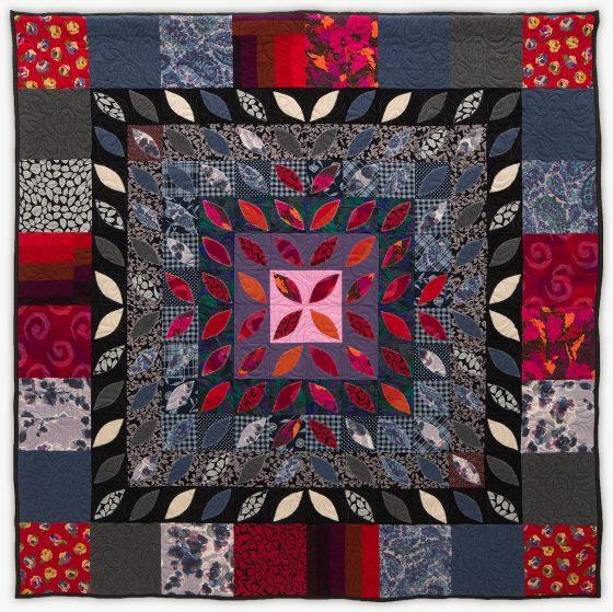 'Frances'Flower,' a memorial quilt by Lori Mason