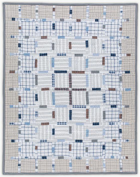 'Alfredo's Map,' a memorial quilt designed by Lori Mason