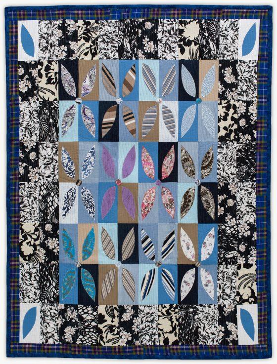 'Nina's Gran', a memorial quilt designed by Lori Mason