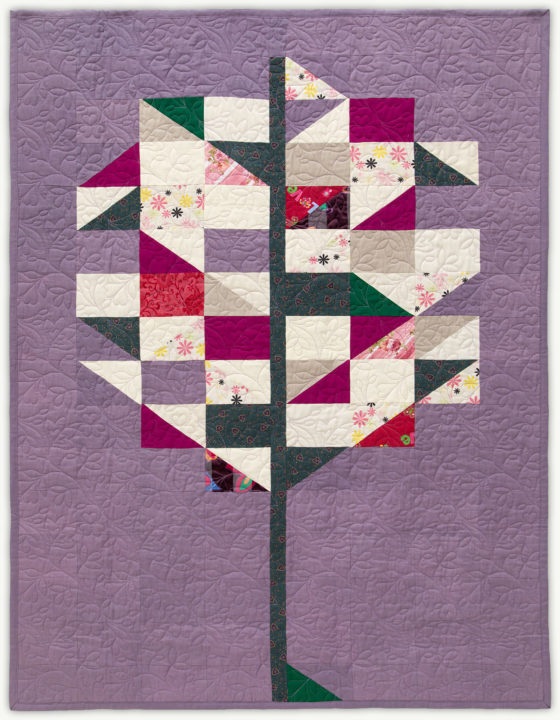'Emma's Tree', a memorial quilt designed by Lori Mason