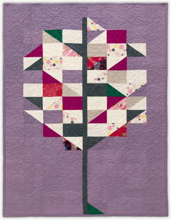 'Emma's Tree', a memorial quilt designed by Lori Mason