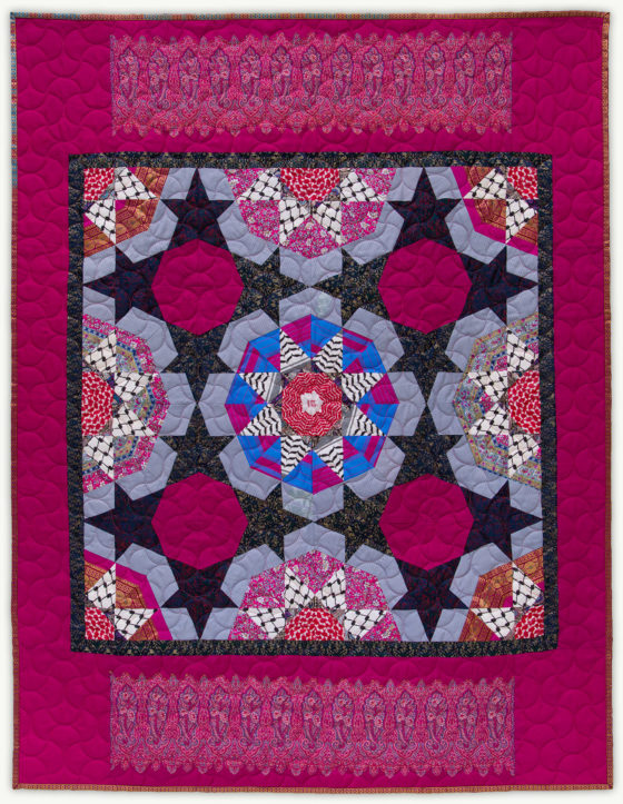 'Eric's-Star', a memorial quilt designed by Lori Mason