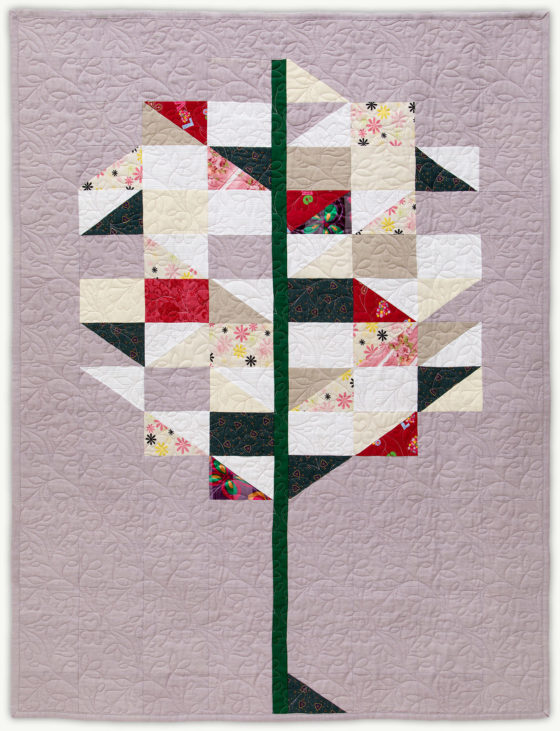 'Lizzie's Tree', a memorial quilt designed by Lori Mason