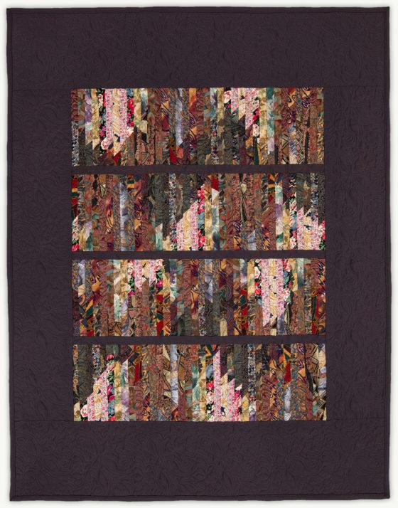 'Michael's Tune', a memorial quilt designed by Lori Mason