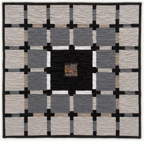 'Michael's Robes 3', a memorial quilt designed by Lori Mason
