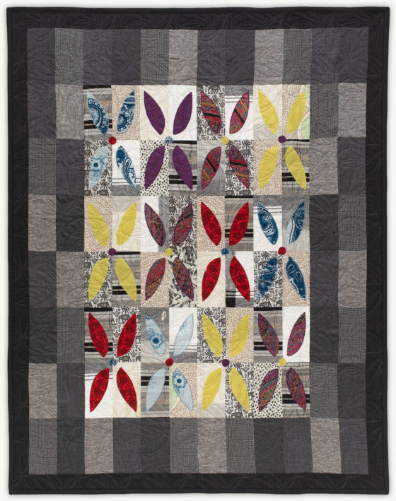 'Barbara's Flower Patch', a memorial quilt designed by Lori Mason